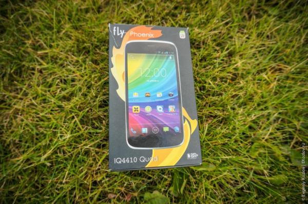 Обзор смартфона Fly IQ4410 Quad Phoenix